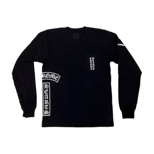 Chrome Hearts Multi Logo L/S T-shirt Black