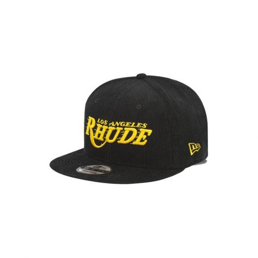 Rhude x Los Angeles Lakers New Era Dreamers Hat Black/Gold