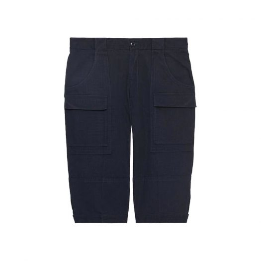 Gucci x The North Face Nylon Cropped Pant Navy