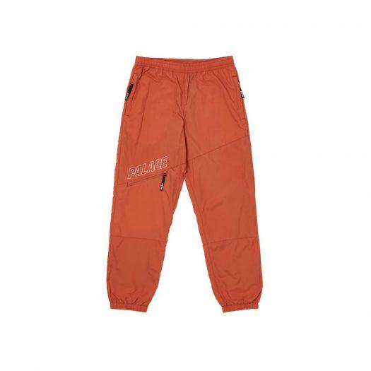 Palace Slant Zip Shell Pant Orange