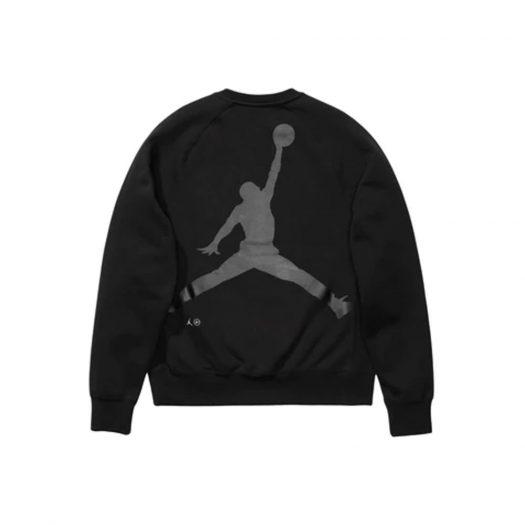 Jordan x Fragment Crewneck Sweatshirt Black