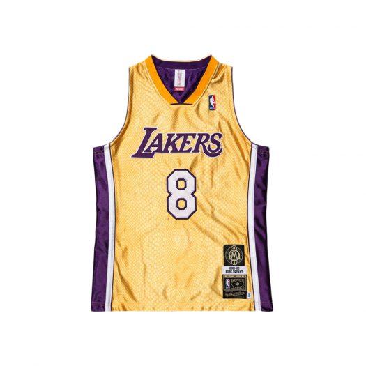 Mitchell & Ness Kobe Bryant HOF NBA Reversible Jersey Purple/Gold