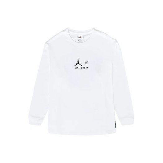Jordan x Fragment L/S T-shirt Platinum Tint