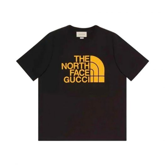 Gucci x The North Face Oversize T-Shirt Black