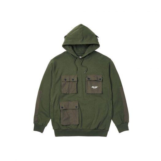 Palace C-Pocket Hood Green