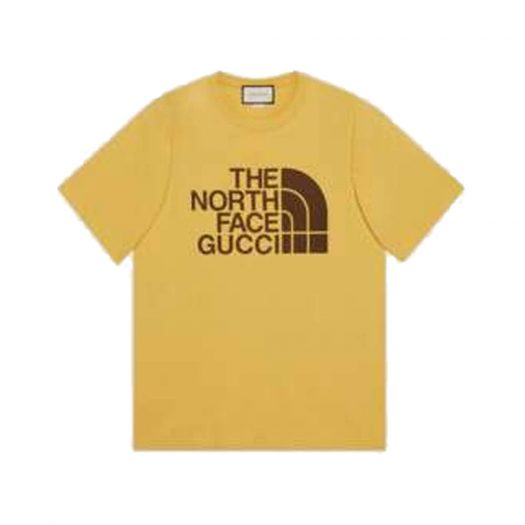 Gucci x The North Face Oversize T-Shirt Gold