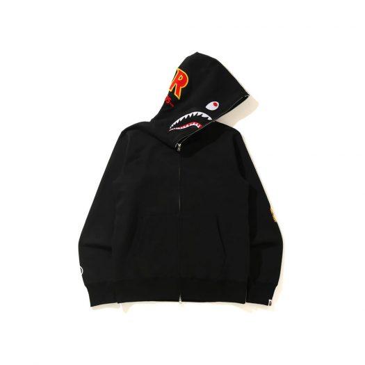 Bape Shark Full Zip Hoodie (Ss21) Black