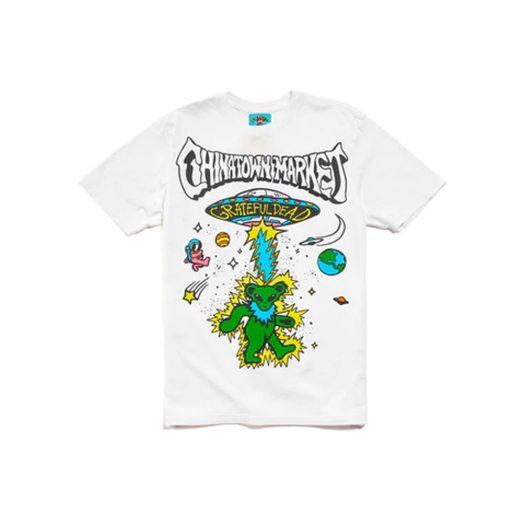 Market Grateful Dead Space Bears T-shirt White