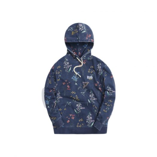 Kith Botanical Floral Williams III Hoodie Nocturnal