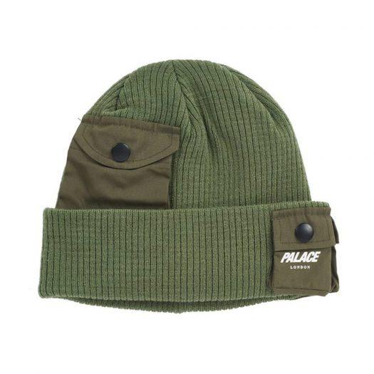 Palace C-Pocket Beanie Green