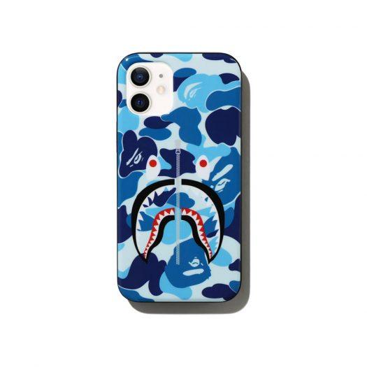 Bape Abc Camo Shark Iphone 12 Mini Case Blue