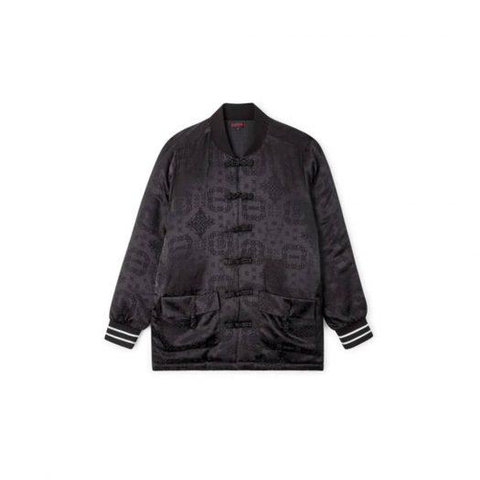 CLOT Year of the Ox Silk Jacket Black