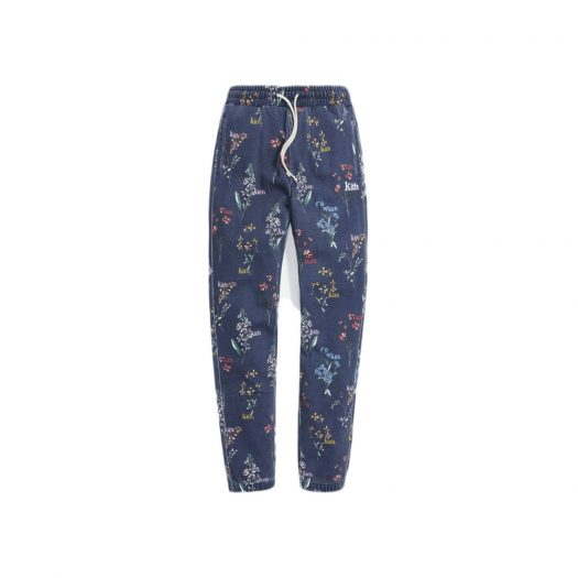 Kith Botanical Floral Williams I Sweatpant Nocturnal