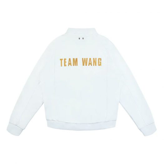 TEAM WANG IPO Tracksuit White/Gold