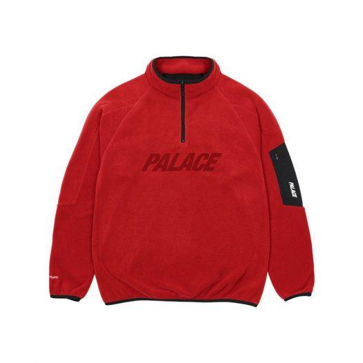 Palace Polartec 1/4 Zip Red