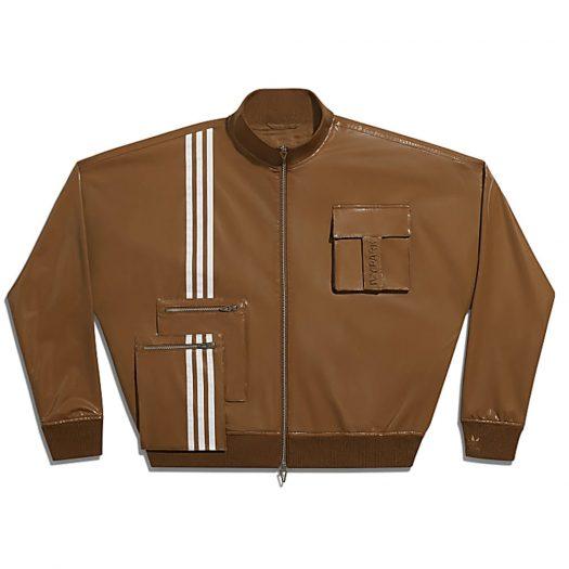 adidas Ivy Park Latex Track Jacket (All Gender) Wild Brown