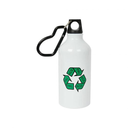 Palace P-Cycle Water Bottle White
