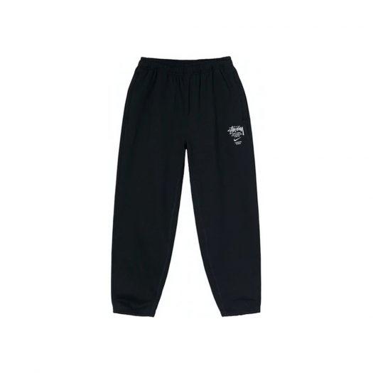 Nike x Stussy International Sweatpants Black