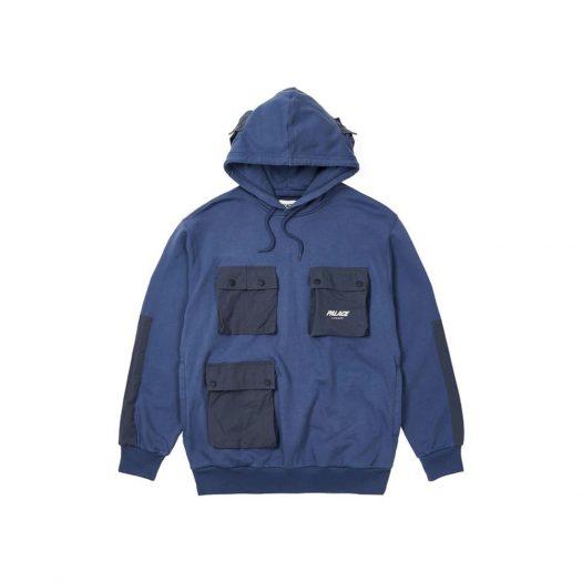 Palace C-Pocket Hood Blue