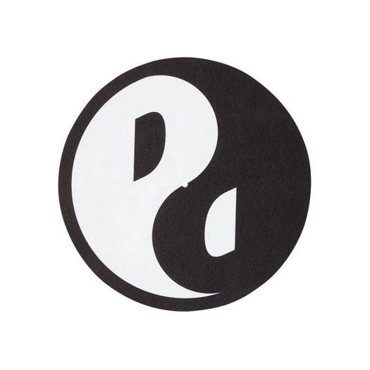 Palace Yin Yang Slip Mats Black/White