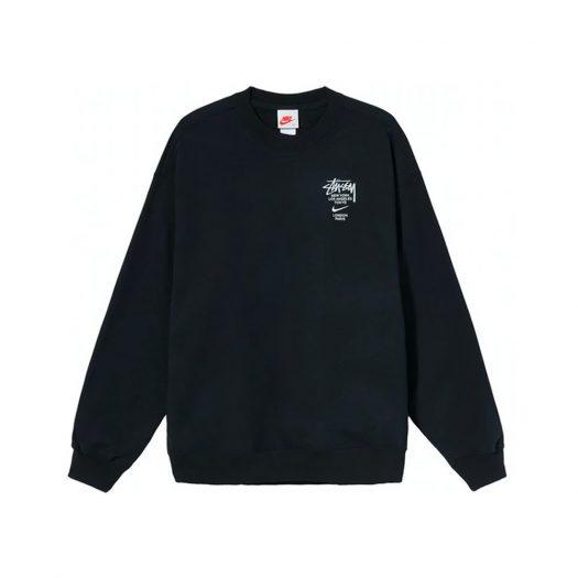 Nike x Stussy International Crewneck Sweatshirt Black