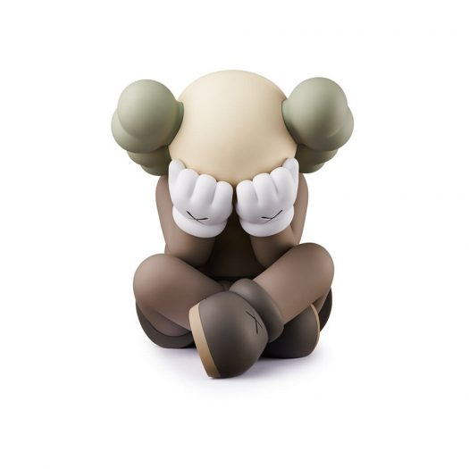 KAWS Separated Vinyl Figure Brown