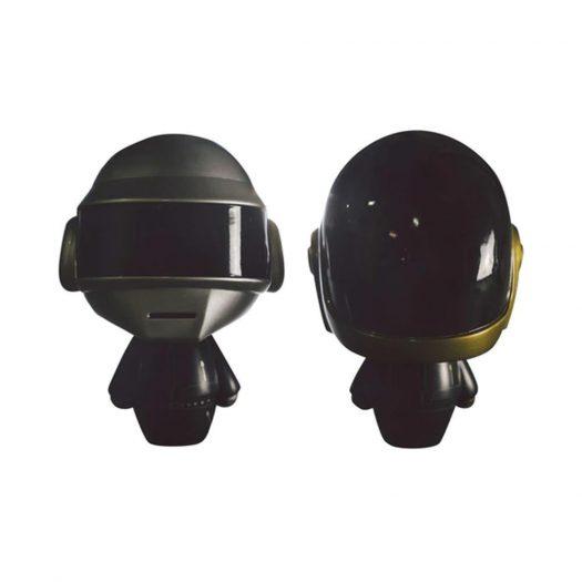Medicom x Kidokyo Daft Punk Robots Figure (Set of 2) Silver/Gold