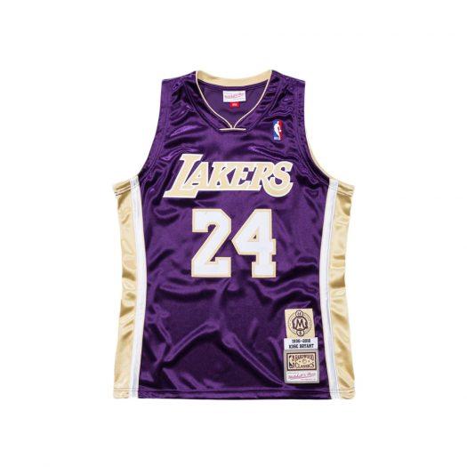 Mitchell & Ness Kobe Bryant HOF NBA Authentic Jersey Purple