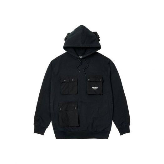 Palace C-Pocket Hood Black