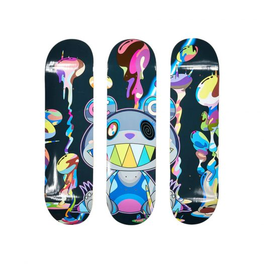 Takashi Murakami x ComplexCon Polluted Skateboard Deck (Set of 3) Multicolor