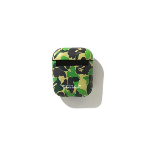 Bape Abc Camo Airpods Case (Ss21) Green