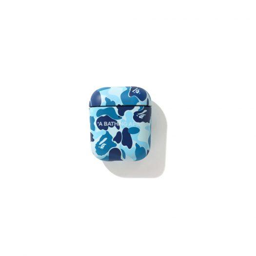 Bape Abc Camo Airpods Case Blue
