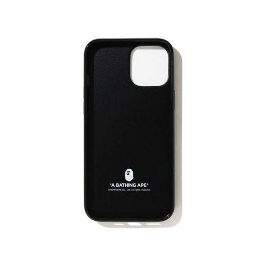 Bape Multi Camo Iphone 12/12 Pro Case Black