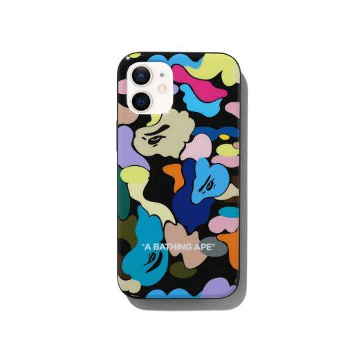 Bape Multi Camo Iphone 12 Mini Case Black