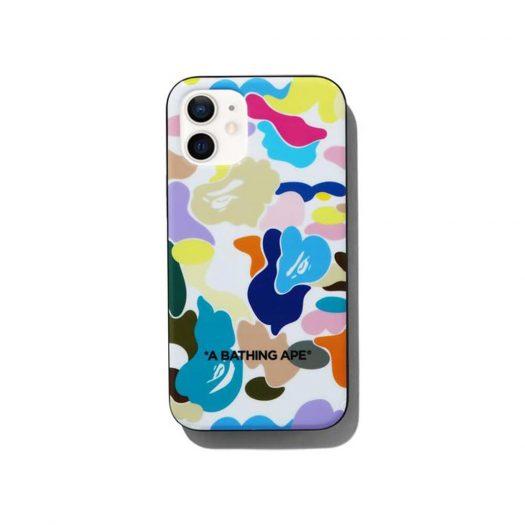 Bape Multi Camo Iphone 12 Mini Case White