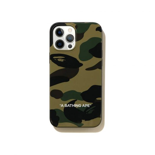 Bape 1st Camo Iphone 12 Pro Max Case Green