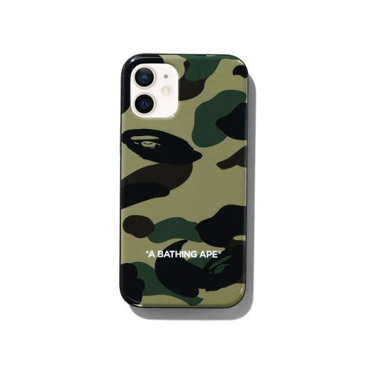 Bape 1st Camo Iphone 12 Mini Case Green