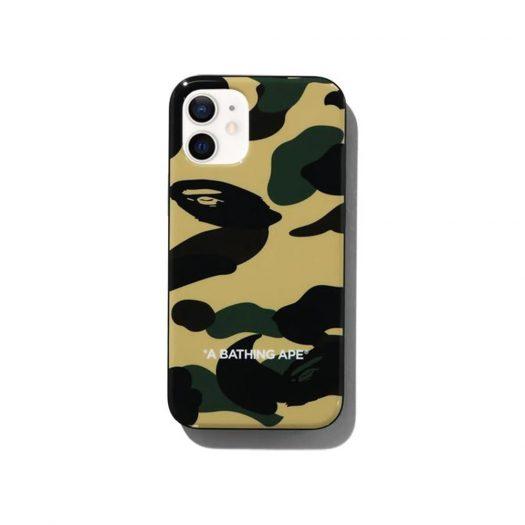 Bape 1st Camo Iphone 12 Mini Case Yellow