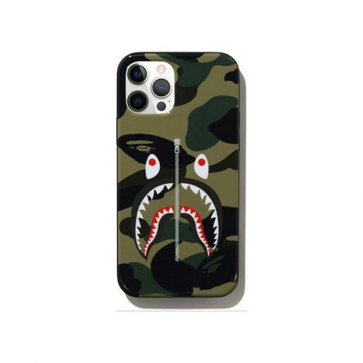 Bape 1st Camo Shark Iphone 12/12 Pro Case Green