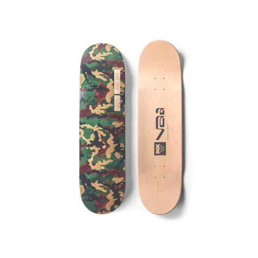 Virgil Abloh x DGK Skate Board Camo