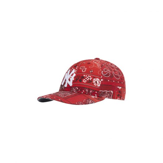 Kith For New Era Yankees Deconstructed Bandana Low Profile Cap Pyre