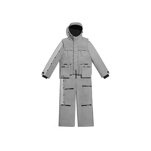adidas Ivy Park Reflective Flight Suit (All Gender) Silver Metallic