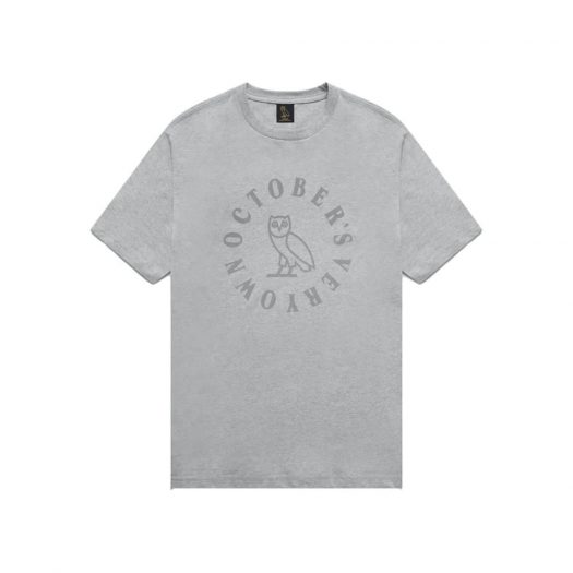 OVO Circle T-Shirt Heather Grey