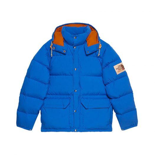 Gucci x The North Face Nylon Jacket Blue