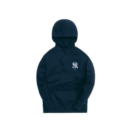 Kith For The New York Yankees Williams III Hoodie Navy