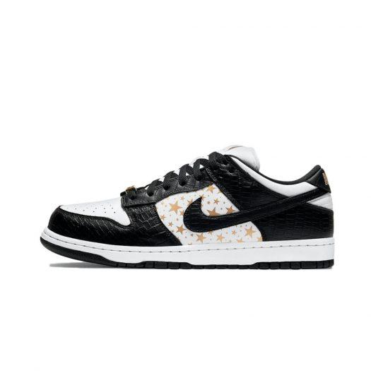 Nike SB Dunk Low Supreme Stars Black (2021)