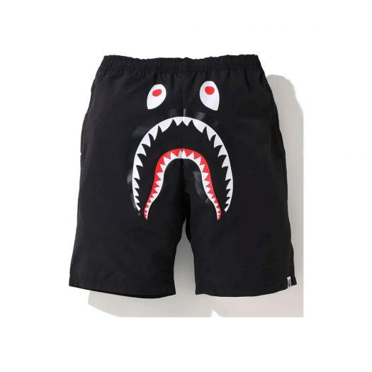 Bape Shark Beach Shorts (Ss20) Black