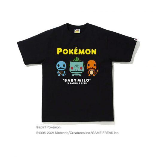 BAPE Pokémon Baby Milo #14 Tee Black