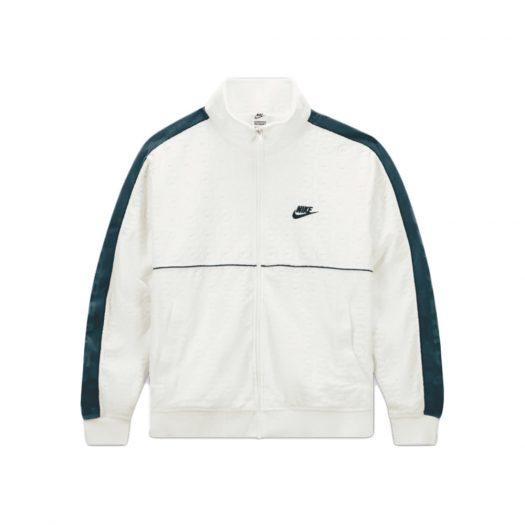 Supreme Nike Velour Track Jacket White