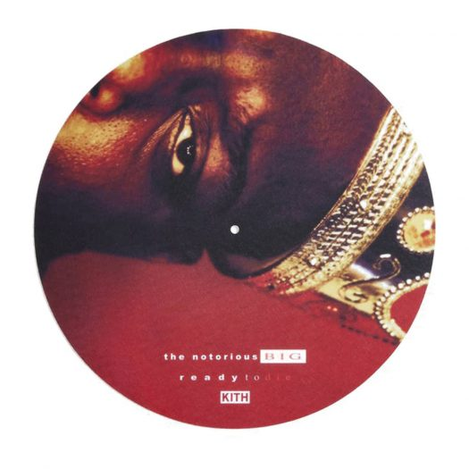 Kith The Notorious B.I.G Notorious Slipmat Red